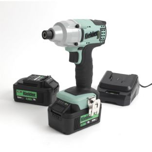 "Kielder KWT-005-09 1/4"" Drive 200Nm Brushless Impact Driver With 2 4Ah Batteries"